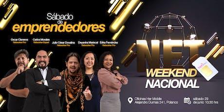 NetWeekend - Sábado de emprendedores tickets