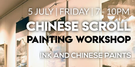Chinese Scroll Painting Workshop tickets