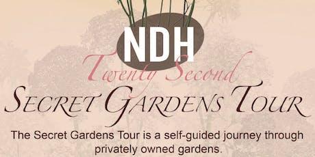 22nd Annual Secret Gardens Tour  tickets
