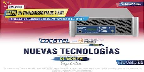 Nuevas Tecnologías en radio FM S.P.S entradas