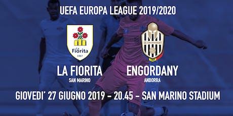 La Fiorita - Engordany - UEFA Europa League - Preliminary round biglietti