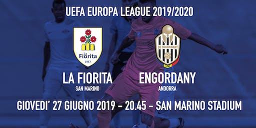 La Fiorita - Engordany - UEFA Europa League - Preliminary round