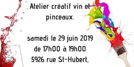 Copy of Atelier Vin et Pinceaux billets