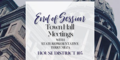 End of Session Town Hall | Grand Prairie tickets