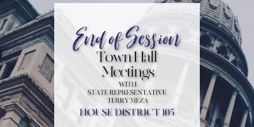 End of Session Town Hall | Grand Prairie