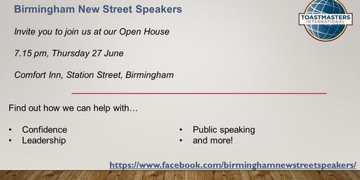 New Street Speakers