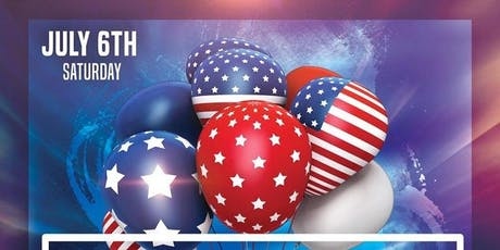 4TH OF JULY WEEKEND CELEBRATION AT BLUE tickets