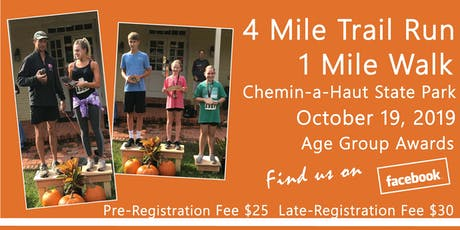 Chemin-a-Haut Trail Run and Walk tickets