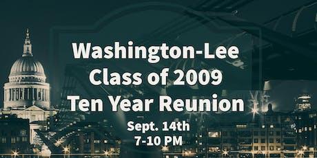 WL Class of 2009 Ten Year Reunion tickets
