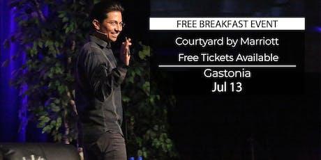 (FREE) Millionaire Success Habits revealed in Gastonia by Dean Graziosi tickets
