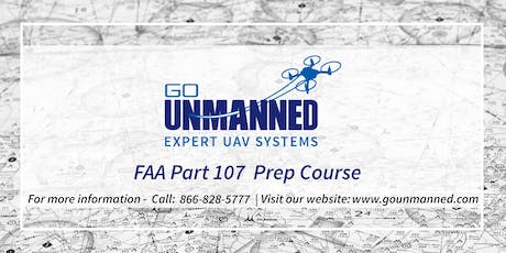 FAA Part 107 Prep Course - Raleigh, NC Tickets, Fri, Sep 6, 2019 at