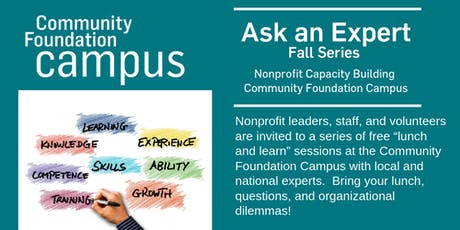 Ask an Expert Fall Series  tickets