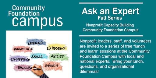 Ask an Expert Fall Series