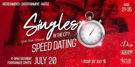Singles in the City: Speed Dating & Social Mixer tickets