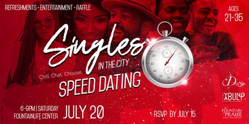 Singles in the City: Speed Dating & Social Mixer
