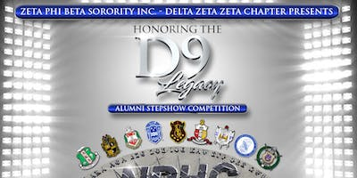 Honoring the D9 Legacy Alumni Step Show  Competition