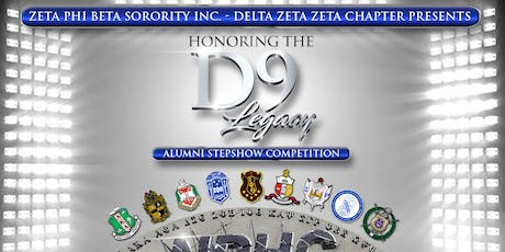 Honoring the D9 Legacy Alumni Step Show  Competition tickets