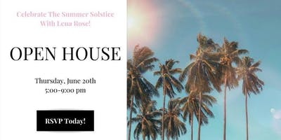 June Open House: Summer Solstice Party!
