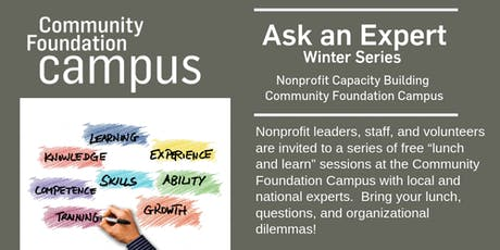 Ask an Expert Winter Series tickets