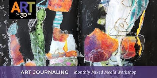 Art Journaling - August Workshop