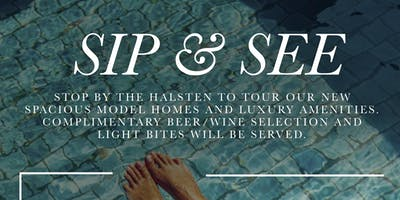 Sip and See @ The Halsten at Chauncey Lane