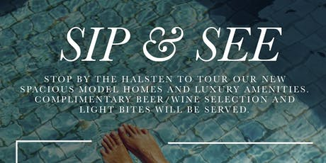 Sip and See @ The Halsten at Chauncey Lane tickets
