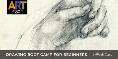THU - Drawing for Beginners with instructor Duke Windsor