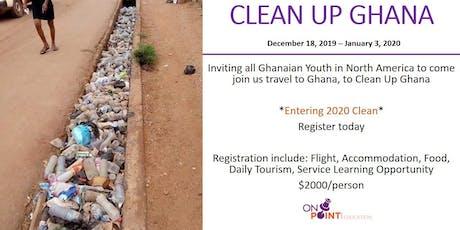 Clean Up Ghana Trip tickets