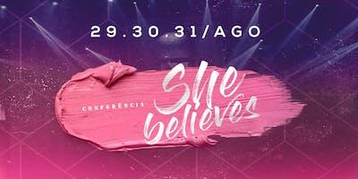 She Believes - Conferência de Mulheres