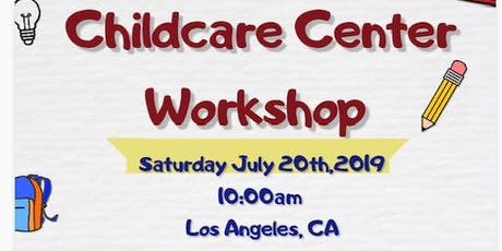Childcare Center Workshop tickets