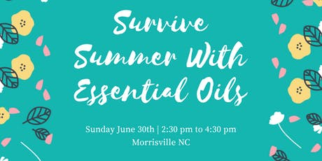 Free Essential Oil Make & Take Class tickets