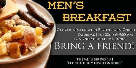 PTC Men's Breakfast tickets