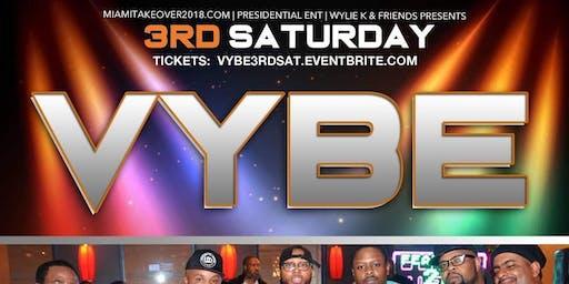 Vybe 3rd Saturday's @ Takoma Station
