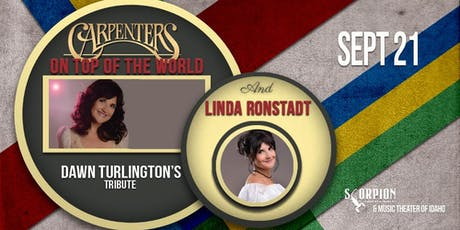 Carpenters: On Top of the World (9/21/19) tickets