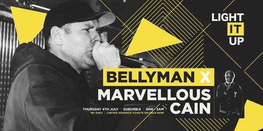 Bellyman & Marvellous Cain in Southampton