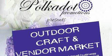 Outdoor Craft & Vendor Market tickets