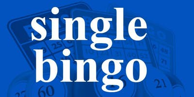 SINGLE BINGO SATURDAY DECEMBER 7, 2019