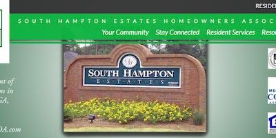 South Hampton Estates HOA Block Party