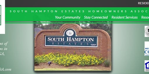 South Hampton Estates HOA Block Party
