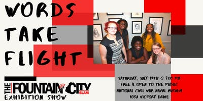 Words Take Flight: FC Teen Poetry Slam Exhibition Show