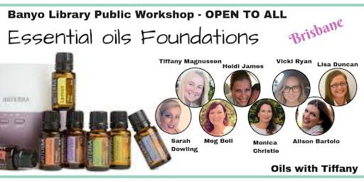 Essential Oils Foundations Class - Brisbane Public Event