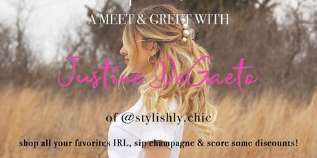Come SIP & SHOP with @stylishly.chic!  tickets
