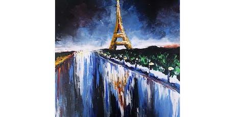 8/18 - Eiffel Tower at Night @ Northwest Cellars, Kirkland  tickets