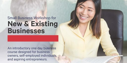 Small Business Workshop for New & Existing Businesses