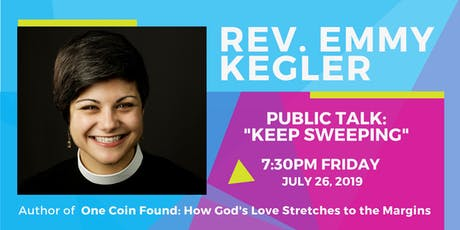 "Rev. Emmy Kegler Public Talk ""Keep Sweeping"" tickets"