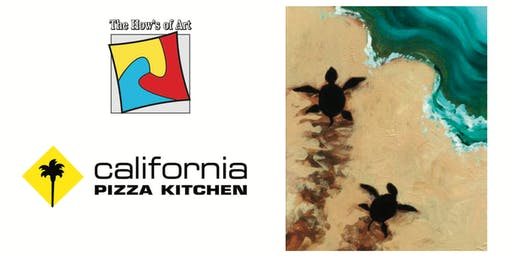 Fun Painting, Pizza and Wine Event at California Pizza Kitchen. FOOD & WINE INCLUDED!
