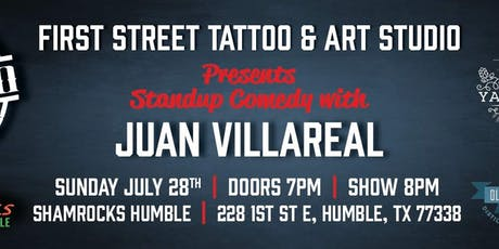 Juan Villareal Live @ Shamrocks tickets