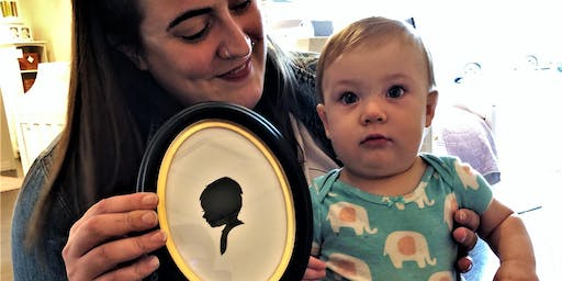 Pottery Barn Mayfair (Wauwatosa, WI) Hosts Silhouette Artist Chris Casey