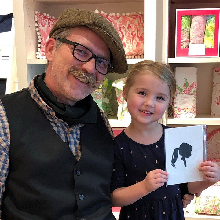 Pottery Barn Mayfair (Wauwatosa, WI) Hosts Silhouette Artist Chris Casey image