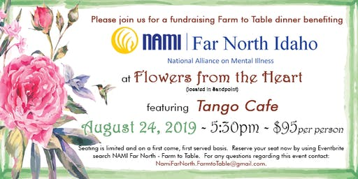 2019 NAMI Far North Farm to Table